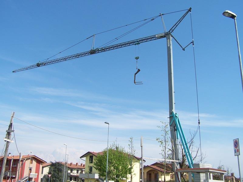 Stavebný žeriav Cattaneo CM 60B | TOP CRANES