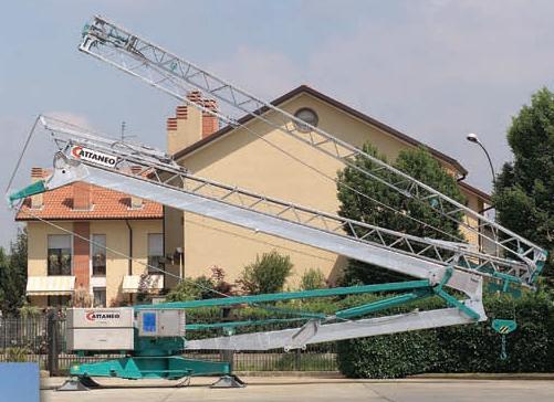 Stavebný žeriav Cattaneo CM 82S4 | TOP CRANES