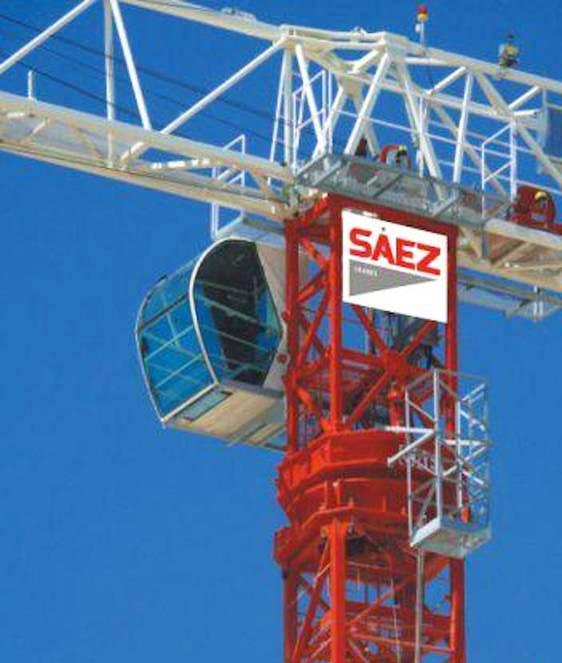 Vežový žeriav SAEZ TLS 65 6T | TOP CRANES