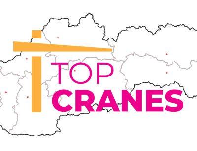 Žeriavy na stavbu po celom Slovensku | TOP CRANES