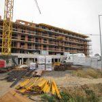 Stavebný žeriav Cattaneo CM75S4 - výstavba projektu Panoráma v Košiciach | TOP CRANES