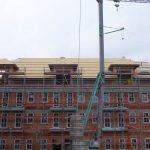 Stavebný žeriav Cattaneo - výstavba hotela 4* Hotel pod Lipou v Modre | TOP CRANES