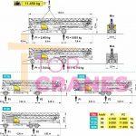 Stavebný žeriav Cattaneo CM 280 - preprava | TOP CRANES