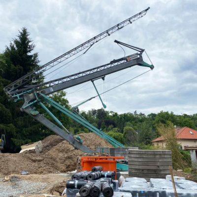 Stavebné žeriavy Cattaneo na predaj a na prenájom | TOP CRANES