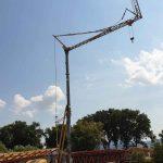 Stavebný vežový žeriav Potain HD40 | TOP CRANES