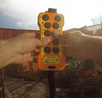 Rádiové diaľkové ovládače REMdevice | TOP CRANES